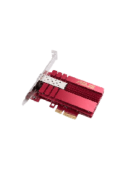 Brand New Asus (XG-C100F) 10G PCI Express Network Adapter/ SFP + Port for Optical Fiber Transmission/ DAC/ Built-in QoS