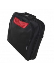 "Approx (APPNBCP15BR) 15.6"" Laptop Carry Case, Multiple Compartments, Padded, Black/Red, Retail"