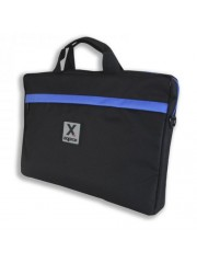 "Approx (APPNB15S) 15.6"" Laptop Carry Case, Multiple Compartments, Black & Blue, Retail"