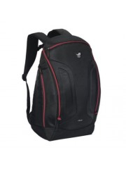 "Asus ROG SHUTTLE II 17"" Backpack, Oversized Interior, Water Resistant, Black & Red"