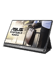 "Asus 15.6"" Portable IPS Monitor (MB16AP), 1920 x 1080, USB Type-C, USB-powered, Ultra-slim, Auto-rotatable, Smart Case Stand"