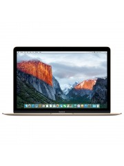 "Refurbished Apple MacBook 12"", Intel Core M 1.1Ghz, 256GB Flash, 8GB RAM, Intel HD 5300 (Early 2015) - Gold, A"