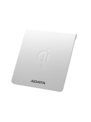 ADATA CW0050 Wireless Qi-Certified Charging Pad, 5W, Ultra-Thin, Micro USB, White