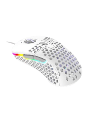 Brand New Xtrfy M4 RGB Wired Optical Gaming Mouse/USB/400-16000 DPI/Omron Switches/125-1000 Hz/Adjustable RGB/White