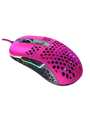 Brand New XTRFY M42 Wired Optical Ultra-Light Gaming Mouse/USB/400-16000 DPI/Omron Switches/Adjustable RGB/Modular Design/Pink