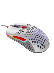 Brand New XTRFY M42 Wired Optical Ultra-Light Gaming Mouse/USB/400-16000 DPI/Omron Switches/Adjustable RGB/Modular Design/Retro