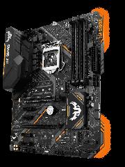 Asus TUF B360-PRO GAMING (WI-FI), Intel B360, 1151, ATX, DDR4, VGA, HDMI, XFire, Wi-Fi, Dual M.2, RGB Lighting