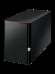 Buffalo 8TB LinkStation 520 NAS Drive, (2 x 4TB), RAID 0/1, GB LAN, NovaBACKUP & BitTorrent, USB3, Control Features