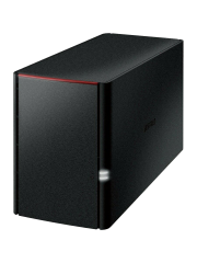 Buffalo 4TB LinkStation 520 NAS Drive, (2 x 2TB), RAID 0/1, GB LAN, NovaBACKUP & BitTorrent, USB3, Control Features