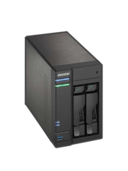 ASUSTOR AS6202T 2-Bay NAS Enclosure (No Drives), Quad Core CPU, 4GB DDR3L, HDMI, USB3 , Dual GB LAN