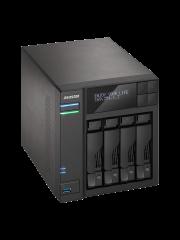 ASUSTOR AS6404T 4-Bay NAS Enclosure (No Drives), Quad Core CPU, 8GB DDR3L, HDMI, USB3 Type-C, Wake on WAN, LCD Screen, Dual GB LAN