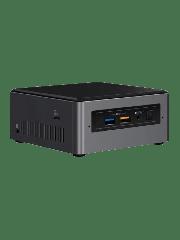 "Intel NUC Tall Baby Canyon Barebone, i3-7100U, M.2 & 2.5"" SATA, Wi-Fi, Btooth, USB Type C Gen2, HDMI, SDXC - No RAM/SSD/OS"