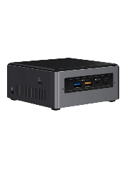 "Intel NUC Tall Baby Canyon Barebone, i7-7567U, M.2 & 2.5"" SATA, Wi-Fi, Btooth, USB Type C Gen2, HDMI, SDXC - No RAM/SSD/OS"