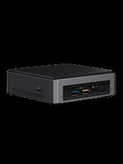 Intel NUC Slim Baby Canyon Barebone, i5-7260U, M.2 Slot, Wi-Fi, Btooth, USB Type C Gen2, HDMI, SDXC - No RAM/SSD/OS
