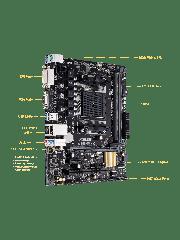 Asus A68HM-K, AMD A68H, FM2+, Micro ATX, RAID, USB3