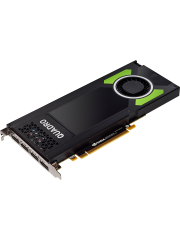 PNY Quadro P4000 Professional Graphics Card, 8GB DDR5, 4 DP 1.4 (4 x DVI adapters)