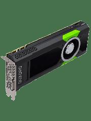 PNY Quadro P5000 Professional Graphics Card, 16GB DDR5, 4 DP