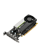 PNY NVidia T1000 Professional Graphics Card/4GB DDR6/4 miniDP 1.4/4 x DP adapters/Low Profile (Bracket Included)