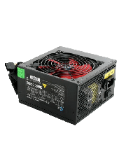 Ace 500W PSU, ATX 12V, Active PFC, 2 x SATA, 120mm Silent Red Fan, Black Casing