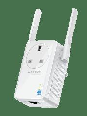 TP-Link (TL-WA860RE) 300Mbps Wall-Plug Wifi Range Extender, AC Passthrough, 1 LAN