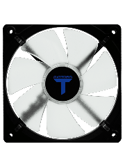 Riotoro Cross-X Classic Case Fan, 12CM, Hydraulic Bearing - Blue LED