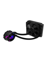 Asus ROG STRIX LC120 RGB 120mm Liquid CPU Cooler, Addressable RGB PWM Fan