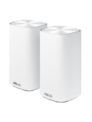 Brand New Asus (ZenWiFi AC Mini (CD6)) AC1500 Wireless Dual Band Mesh Mini System/ 2 Pack (Router & Node)/ AiMesh/ AiProtection