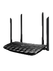 TP-Link (Archer C6), AC1200 (867+300) Wireless Dual Band GB Cable Router, 4-Port, Access Point Mode
