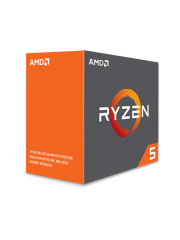 AMD Ryzen 5 2600X CPU with Wraith Cooler, AM4, 3.6 GHz (4.2 Turbo), 6-Core, 95W, 19MB Cache, 12nm, No Graphics