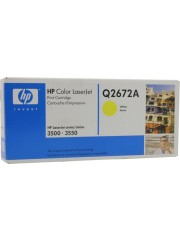 HP 309a Yellow Original LaserJet Toner Cartridge Q2672a