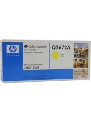 HP 309a Yellow Original LaserJet Toner Cartridge Q2672a