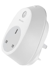 TP-LINK (HS100) Wi-Fi Smart Plug, Remote Access, Scheduling, Away Mode, Amazon Echo