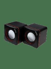 Brand New Jedel 2.0 Mini Stereo Speakers, 3W x2, Black