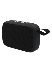 Approx (APPSPBT01B) Portable Bluetooth 4.2 Speaker, 3W, Micro SD Slot, FM Radio.