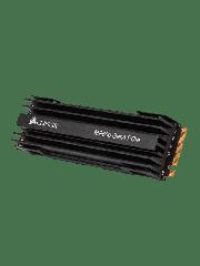 Corsair 1TB Force Series MP600 M.2 NVMe SSD, M.2 2280, PCIe, 3D TLC NAND, R/W 4950/4250 MB/s