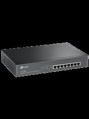 TP-Link (TL-SG1008MP) 8-Port Gigabit Unmanaged Desktop/Rackmount Switch, 8-Port PoE+, Metal