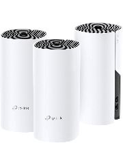 TP-Link (DECO M4) Whole-Home Mesh Wi-Fi System, 3 Pack, Dual Band AC1200, 2 x LAN on each Unit