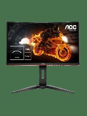 Brand New AOC C24G1 24-inch Widescreen VA LED  Curved Monitor-Black/Red(1920x1080/1ms/VGA/2xHDMI/DP)