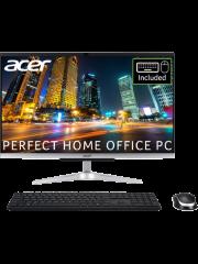 Acer C24-963 AIO/ 23.8-Inch/ Intel Core  i3-1005G1/ 8GB RAM/ 512GB SSD/ Silver/ Windows 10