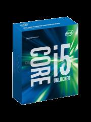 Intel Core i5-6600K CPU, 1151, 3.5 GHz, Quad Core, 95W, 14nm, 6MB, 8 GT/s, Overclockable, NO HEATSINK/FAN, Sky Lake