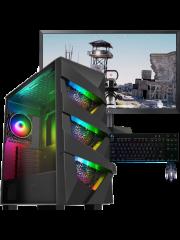 CK - Refurbished Gaming PC/ Intel Core i5 4th Gen/ 16GB RAM/ 240GB SSD+1TB HDD/ GTX 1660 Super/ B