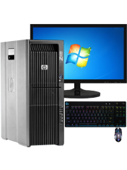 CK - Refurb Intel Xeon/ 16GB RAM/ 2x 500GB HDD/ GeForce 1080 8GB/ Full Set Gaming Pc/ B