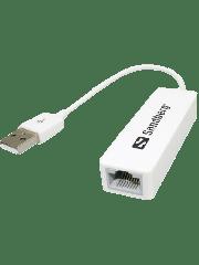 Sandberg (113-78) USB 2.0 to 10/100 Ethernet Network Adapter, 5 Year Warranty