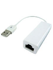 Approx USB 2.0 to 10/100 Ethernet Network Adapter, White