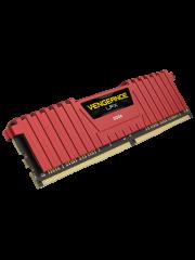 Corsair Vengeance LPX 8GB, DDR4, 2400MHz (PC4-19200), CL16, XMP 2.0, DIMM Memory, Red