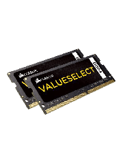 Corsair Value Select 8GB Kit (2 x 4GB), DDR4, 2133MHz (PC4-17000), CL15, SODIMM Memory