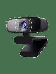 Brand New Asus Webcam C3 USB FHD Webcam with Beamforming Mic/ 1080p/ 30fps/ 90° Tilt/ 360° Rotation