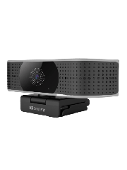 Sandberg Pro Elite 4K UHD Webcam with Noise-Reducing Stereo Mic/ USB-A/USB-C/ 8.3MP/ 3840 x 2160/ 60fps/ Glass Lens/ 78° Viewing Angle/ 5 Year Warranty