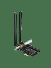 Brand New TP-LINK (ARCHER TX50E) AX3000 (574+2402) Wireless Dual Band PCI Express Adapter/ Bluetooth 5.0/ WPA3