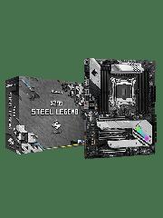 Asrock X299 Steel legend, Intel X299, LGA 2066, ATX, 4 DDR4, RGB LED